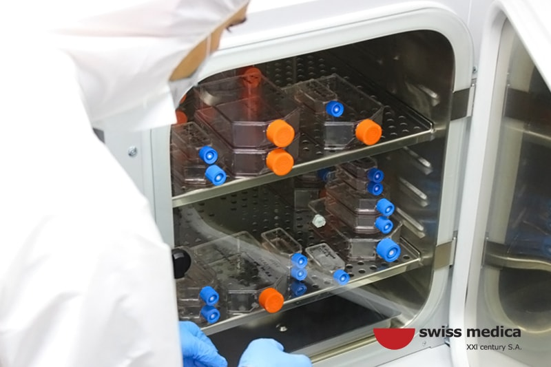 Swiss Medica technology stem cells activation procedure