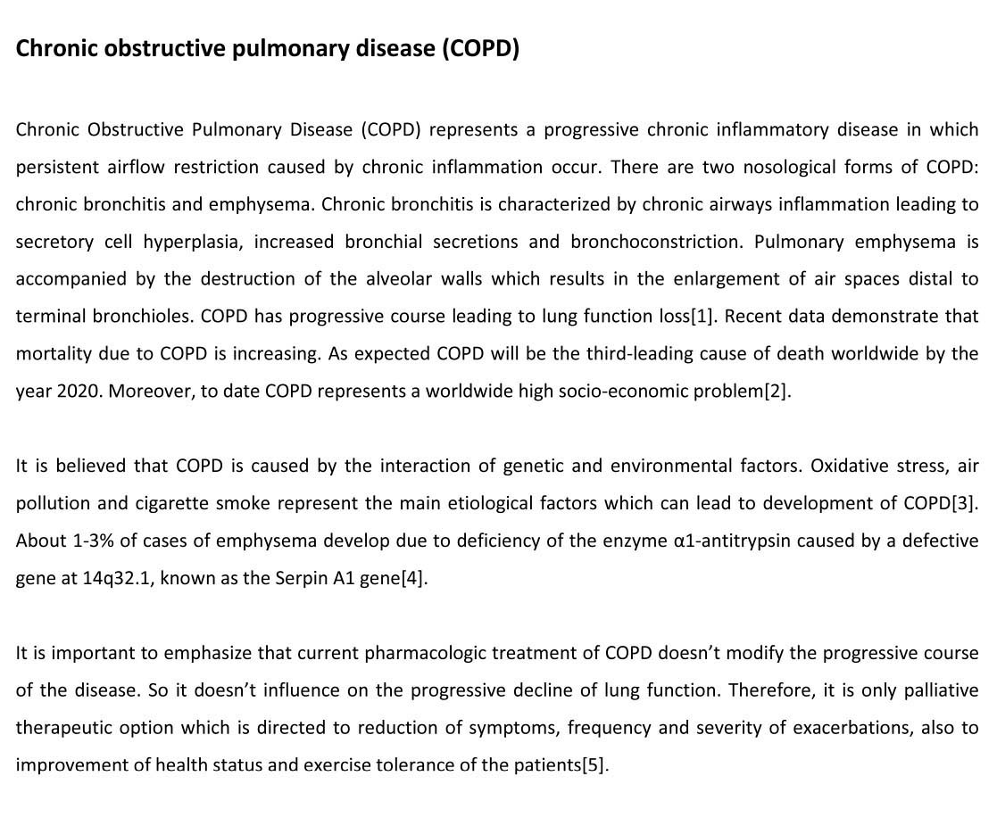 Copd research